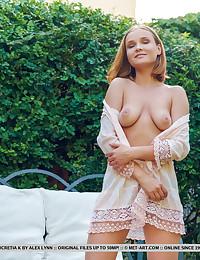 Lucretia K bare in erotic LOUNGE WITH ME gallery - MetArt.com