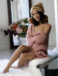Jasmine Grey nude in erotic WINTER IS HERE gallery - MetArt.com