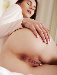 Leona Mia nude in erotic ALONE TIME gallery