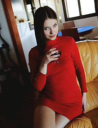 Stasey nude in softcore RED WINE gallery