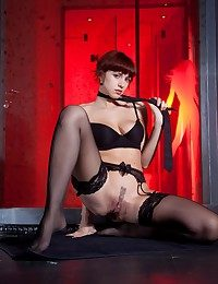 Leka keester rock anything, including her vibrating deathly underwear