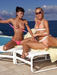 Borehole & SOPHIE connected with Jade, Sophie Moone, Trisha Uptown - ALS Look over