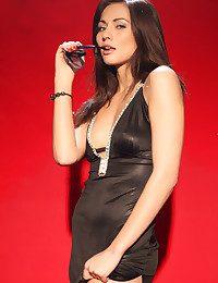 Michaela Isizzu naked in glamour RANSA gallery - MetArt.com
