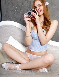 Carolina Sampaio bare in glamour REZIA gallery - MetArt.com